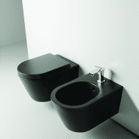 Valdama IL Wall Hung Pan Matt Black