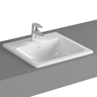 VitrA S20 Inset Washbasin 450 x 450 x 170H 1TH