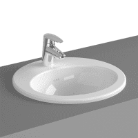 VitrA S20 Inset Washbasin 425 x 425 x 180H 1TH
