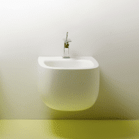 Valdama Seed Wall Hung Bidet Gloss White