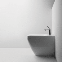 Valdama Start Back to Wall Bidet Gloss White