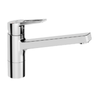 Hansa New Twist Kitchen Faucet