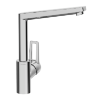 Hansa New Twist High Rise Kitchen Faucet