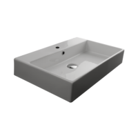 Valdama Unlimited Wall Washbasin 600 x 450 x 110H with Tap Hole