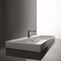 Valdama Urban Wall Washbasin 1000 x 450 x 80H