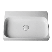 Valdama Unit Wall Washbasin 605 x 405 x 100H