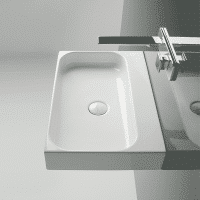 Valdama Unit Wall Washbasin 800 x 405 x 100H 1TH