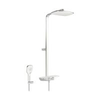Hansa Emotion Wellfit Thermostatic Shower System White