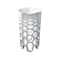 Marmorin Sirona Freestanding Basin Pillar 465Ø x 895mm With Tap Hole