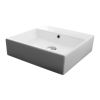 Valdama Unlimited Wall Washbasin 460 x 460 x 110H without Tap Hole