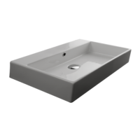 Valdama Unlimited Wall Washbasin 700 x 450 x 110H without Tap Hole