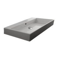 Valdama Unlimited Wall Washbasin 900 x 450 x 110H without Tap Hole