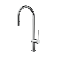 Armando Vicario Gusto 2D4P Retractable Kitchen Tap