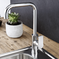 Armando Vicario Lemon Q Kitchen Tap