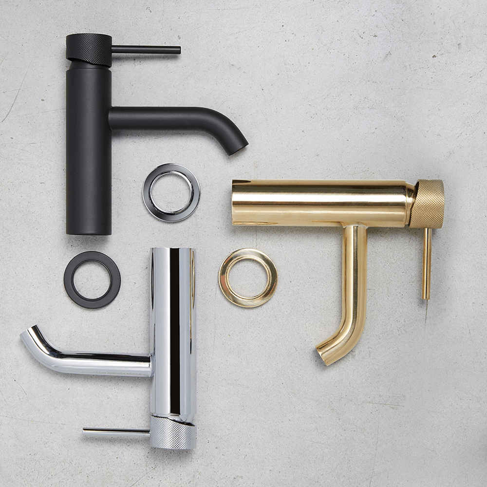 Armando Vicario Industrial Bathroom Tap