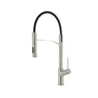 Armando Vicario Viva Retractable Kitchen Tap Double Spray