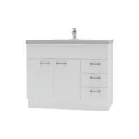 Franklin Furniture Bella Floor Vanity 2 Door / 3 Drawer 1000mm