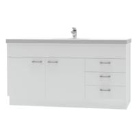 Franklin Furniture Bella Floor Vanity 2 Door / 3 Drawer 1500mm