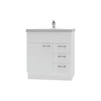 Franklin Furniture Bella Floor Vanity 1 Door / 3 Drawer 750mm