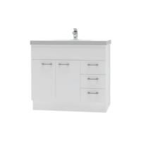 Franklin Furniture Bella Floor Vanity 2 Door / 3 Drawer 900mm