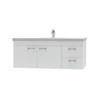Franklin Furniture Bella Wall Vanity 2 Door / 2 Drawer 1200mm
