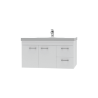 Franklin Furniture Bella Wall Vanity 2 Door / 2 Drawer 900mm