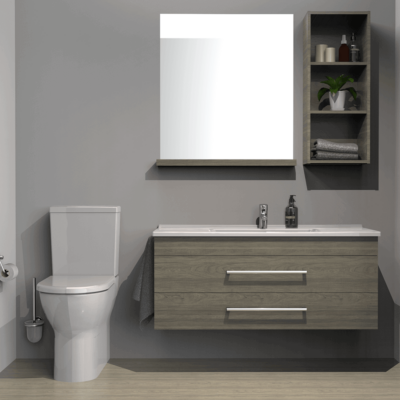 Franklin Furniture S50 Project ED 2 Wall Vanity 2 Drawer