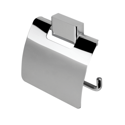 Geesa Bloq Toilet Roll Holder Covered