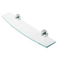 Geesa Luna Bathroom Glass Shelf