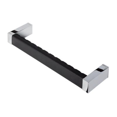 Geesa Modern Art Grab Rail Bathroom Accessories Chrome