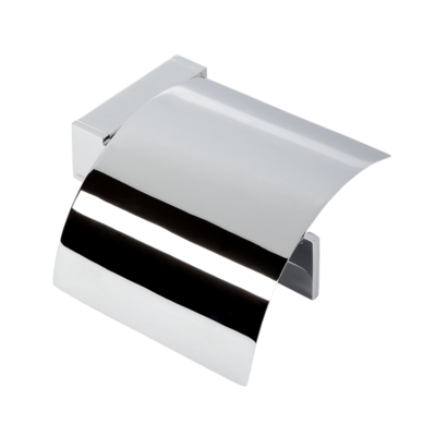 Geesa Modern Art Toilet Roll Holder Bathroom Accessories Chrome