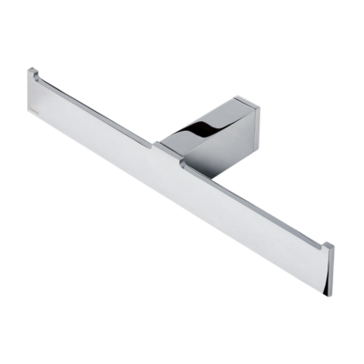 Geesa Modern Art Double Toilet Roll Holder Bathroom Accessories Chrome