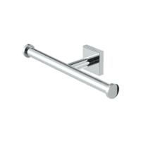 Geesa Nelio Double Toilet Roll Holder Chrome