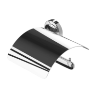 Geesa Tone Toilet Roll Holder Covered