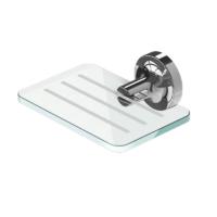 Geesa Tone Bathroom Soap Holder Chrome