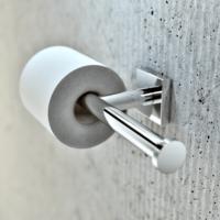 Geesa Nelio Bathroom Accessories Double Toilet Roll Holder