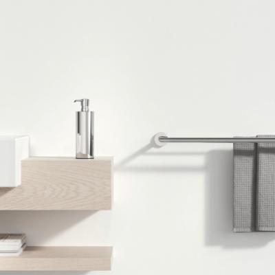 Geesa Nemox Bathroom Accessory Collection Chrome - Double Towel Rail