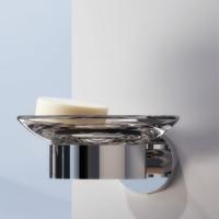Geesa Nemox Bathroom Accessory Collection Chrome - Soap Dish