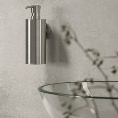 Geesa Nemox Bathroom Accessory Collection Stainless Steel - Soap Dispenser