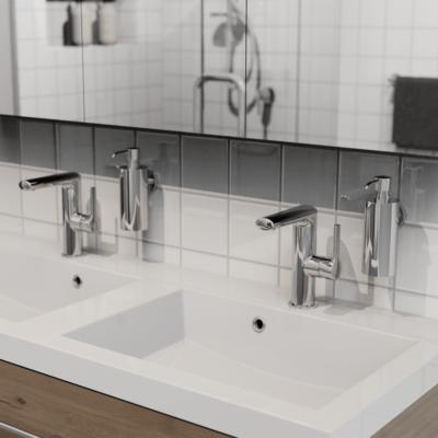 Geesa Nemox Chrome Bathroom Accessories Soap Dispenser