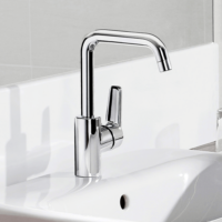 High Rise Basin Faucets