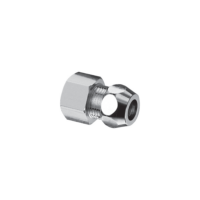 """Schell M&F Socket 1/2"""" x 3/8"""" with Nut"""