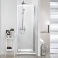 The Urban Collection Pivot Shower Door Alcove Small