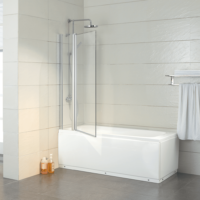 The Urban Collection Hinged Bath Screen