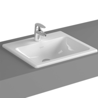 VitrA S20 Inset Washbasin 500 x 450 x 170mm with Tap Hole