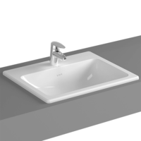 VitrA S20 Inset Washbasin 550 x 450 x 170mm with Tap Hole