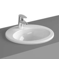 VitrA S20 Inset Washbasin 425 x 425 x 180H with Tap Hole