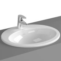 VitrA S20 Inset Washbasin 525 x 475 x 180H with Tap Hole