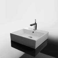 Valdama Unlimited Wall Washbasin 460 x 460 x 110H with Tap Hole
